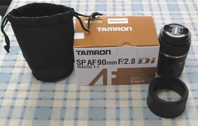 TAMRON SP AF90mm F/2.8 Di MACRO 1:1 (Model272E) (キヤノン用)