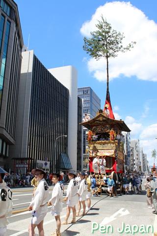 祇園祭 山鉾巡行 北観音山