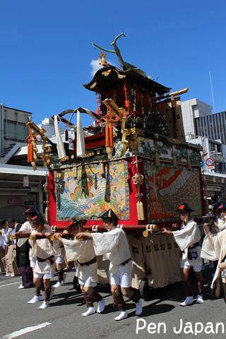 祇園祭 山鉾巡行 蟷螂山
