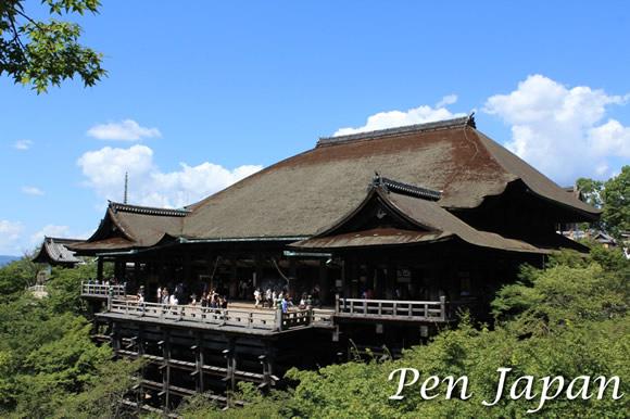 清水寺の本堂・舞台