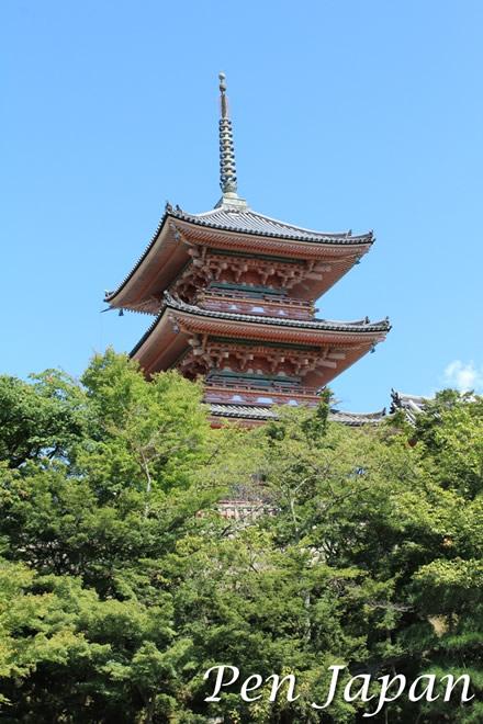 清水寺の五重塔