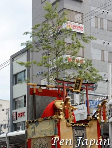 祇園祭の八幡山