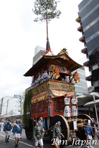祇園祭の北観音山