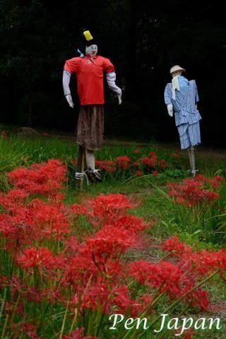 花博記念公園鶴見緑地の彼岸花