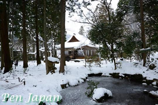 大原三千院の雪景色