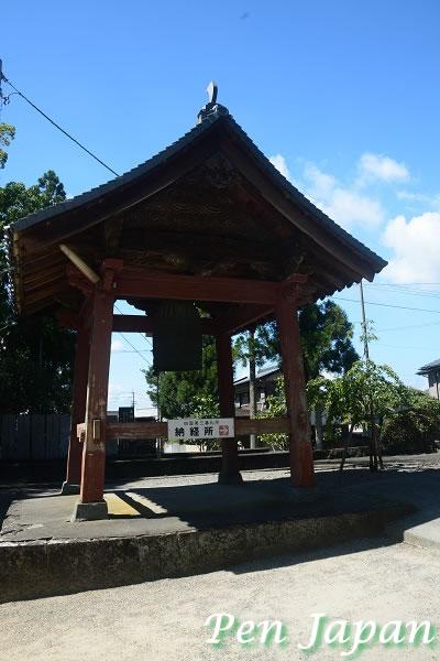 金泉寺の鐘楼
