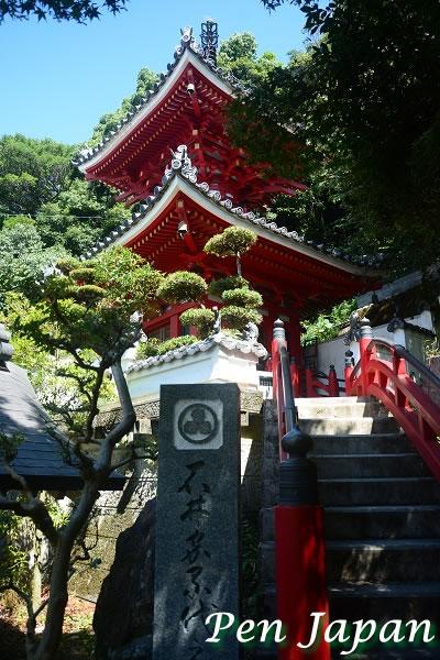 金泉寺の多宝塔