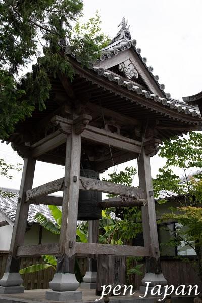 9番札所 法輪寺 鐘楼