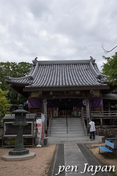 9番札所 法輪寺 本堂