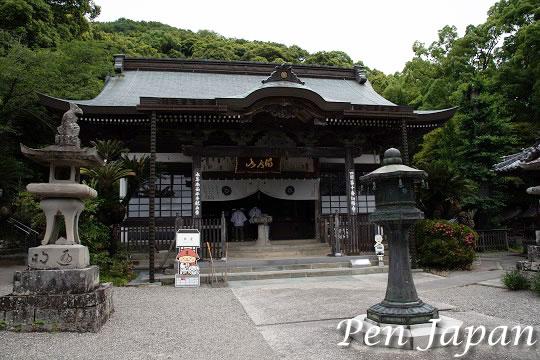 十番札所 切幡寺 本堂
