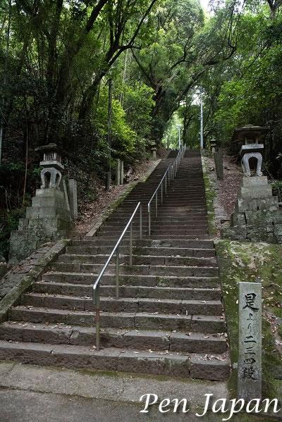 十番札所 切幡寺 石段